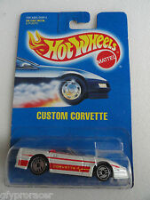Hot Wheels CUSTOM CORVETTE #200 1991 ISSUE