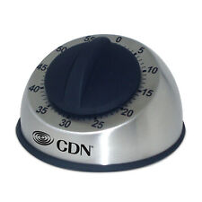 CDN Heavy Duty Mechanical Rotary Timer, Stainless Steel