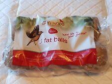 6 Glenwwood quality Suet Fat Balls Fatball bird feed No nets 500g wild bird food