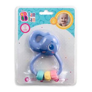 Giocattolo creativo per bambini neonato BamBam elefantino sonaglio 2870