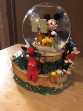Walt Disney Studios Mickey Mouse Through the Years Snowglobe Lights