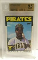 Barry Bonds 1986 Topps Traded Rookie RC #11T Pirates BGS 9.5 Gem Mint MLB