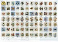 Mouseloft Stitchlets Cross Stitch Kits - Choice of 80+ Designs