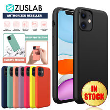 iPhone 11 Pro Max Case ZUSLAB Thin Soft Silicone Shockproof Cover for Apple