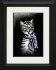 Doug Hyde Miss Purrfect Framed Limited Edition Giclee