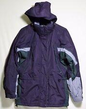 Columbia 3 in 1 Interchange Core Hooded Parka Jacket Purple Women's S Small EUC