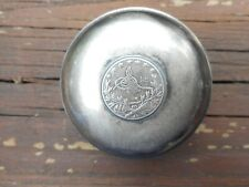 ANTIQUE .900 SILVER TURKISH PILL/ SNUFF/ TRINKET BOX MARKED A.K