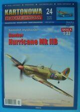 Kartonowa Kolekcja 24 (2/2015) - British fighter Hawker Hurricane Mk IIB