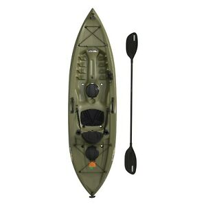 10 ft Fishing Kayak Paddle Included Lifetime Tamarack Angler Green Kayaks Pro