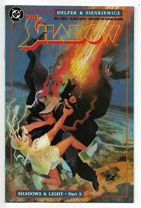 The Shadow #2 DC Comics 1987 VF- Sienkiewicz Art