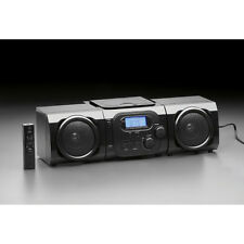 Micro System Black with CD Stereo Player Portable AM/FM Radio