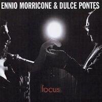 "ENNIO MORRICONE & DULCE PONTES ""FOCUS"" CD NEW+"