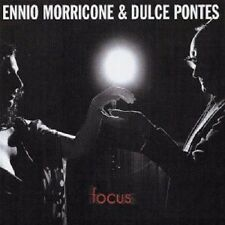 "ENNIO MORRICONE & DULCE PONTES ""FOCUS"" CD NEW+"
