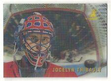 1996-97 Pinnacle McDonald's Caged Ice Breakers - #36 - Jocelyn Thibault