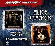 Alice Cooper Brutal Planet/Dragontown 2-CD NEW SEALED Gimme+