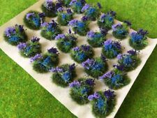 Serious-Play - Purple and Blue Flowers Tuft Dioramas - Static Grass Tufts - 24