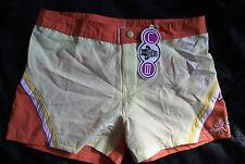 URBAN BEACH Swimwear Shorts Orange / Yellow 8 BNWT