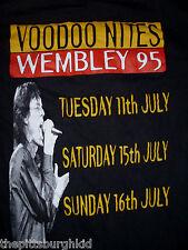 RARE  ROLLING STONES 1995  VOO DOO LOUNGE CONCERT TOUR T SHIRT MED  WEMBLEY