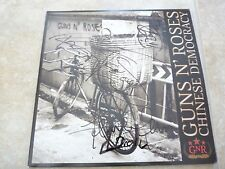 Guns & Roses Chinese Democracy Autographed Signed LP Album x4 PSA Guaranteed