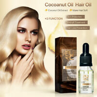Hair Growth Repair Coconut Essential Oil Nourishing for Dry Damaged Hair Loss ZE