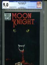 MOON KNIGHT #29 CGC 9.0 Werewolf Appearance  Bill Sienkiewicz Art