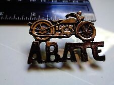 ABATE Vintage Harley Davidson Motorcycle Pin Classic Factory Badge HD Biker Club