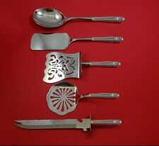 Danish Princess by Holmes and Edwards Plate Silverplate Brunch Set HHWS  Custom