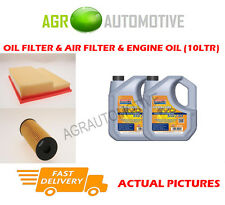 PETROL OIL AIR FILTER + LL 5W30 OIL FOR MERCEDES-BENZ C200 2.0 163 BHP 2000-01