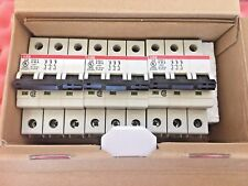 ABB Miniature Circuit Breaker S203U-K40A 3-Pole 40A DIN RAIL DIN,UL,CSA APPROVED