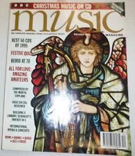 Music Magazine Berio At 70 & Christmas In Europe December 1995 032515R2