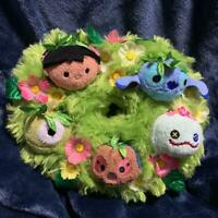 Disney Store Stitch Scrump Lilo Tsum Tsum Wreath Shaped Soft Plush Doll Stuffed