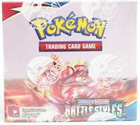 2021 Pokemon Sword & Shield: Battle Styles Booster Box