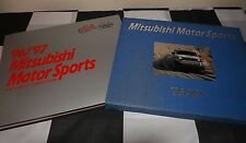 1996 1997 MITSUBISHI MOTOR SPORTS YEARBOOK HARDBACK SLIPCASED PAJERO LANCER WRC