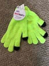 Justice Texting Gloves Techtastic One Size Fuscia NWT