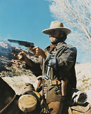 CLINT EASTWOOD THE OUTLAW JOSEY WALES FIRING ON HORSE