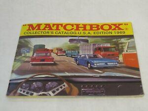 Matchbox Collector's Catalog U.S.A. Edition 1969