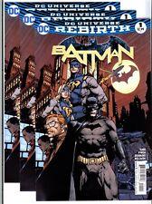 3x)BATMAN Vol.3 #1(8/16)KING/FINCH(1:GOTHAM/GOTHAM GIRL)REBIRTH/ROBI(CGC 'EM)9.8
