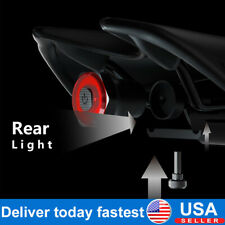 MEROCA  LED USB Seatpost/Saddle Light MTB Road Bike Rear Light Rechargeable