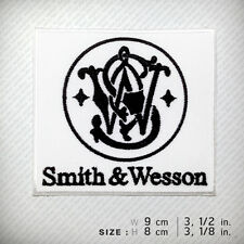 Smith & Wesson Embroidered patch iron on, D.I.Y Clothes Bag , Gun firearms Pisto