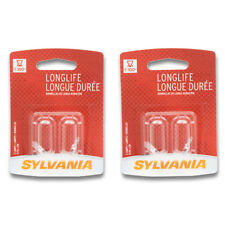 Sylvania Long Life - Two 2 Packs - 2721LL Light Bulb Ash Tray Auto Trans ef