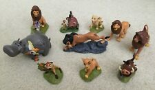 Lot of 10 Disney Lion King Lion Guard Toy Figures PVC Cake Toppers Simba Mufasa