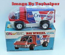 Taiyo Bump N Go Ice Cream Big Wheel Van Truck NIB Japan Vintage