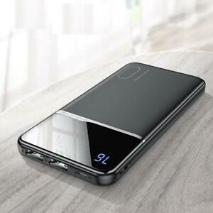 Power Bank 10000mAh Portable USB External Battery Charger Xiaomi Mi 9 8 iPhone