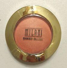 New Milani Baked Powder Blush #05 Luminoso With Mirror Sealed
