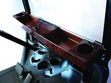 Golf Cart Universal Woodgrain Dash Tray Organizer For Club Car EZGO Yamaha