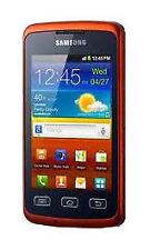 Téléphones mobiles oranges Samsung