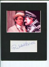 Richard Briers Doctor Who Paradise Towers Rare Signed Autograph Photo Display