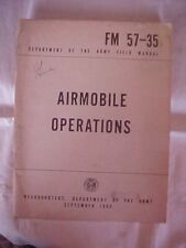 FM 57-35 AIRMOBILE OPERATIONS, DEPARTMENT OF THE ARMY, SEPT 1963