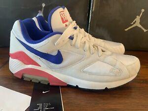 2005 Nike Air Max Zoom 180  Ultramarine White Sneakers 313106-141 Mens US 12