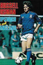Football Photo>RUSSELL OSMAN Ipswich Town 1982-83